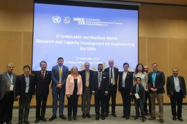 The session of the UN-GGIM Academic Network