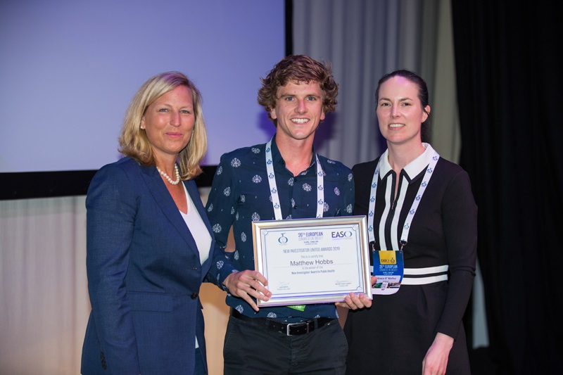 GRI researcher Dr Matthew Hobbs awarded for research in obesity